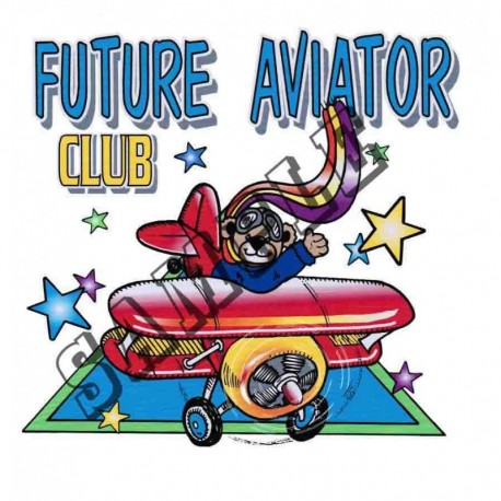 "T-shirt ""Future Aviator Club"""