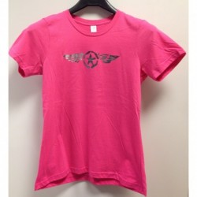 T-shirt stella con ali