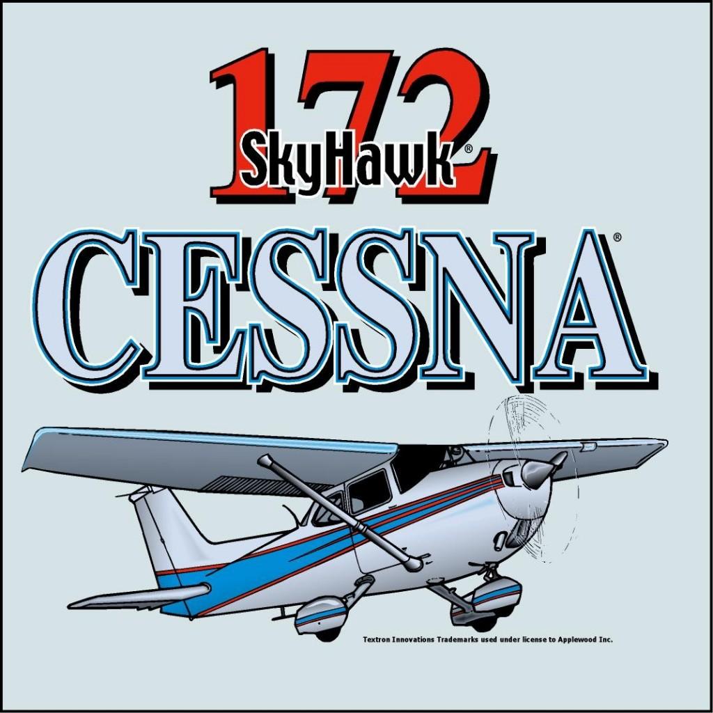 Cessna 172 Skyhawk t-shirt