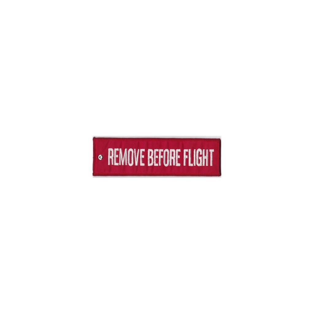 Portachiavi Remove Before Flight 17x5 cm