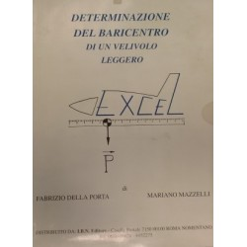 Determinazione del baricentro di un velivolo leggero