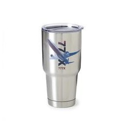 Tazza - Thermos Boeing 777 in acciao