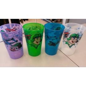 Bicchiere in plastica vari colori