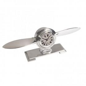 Orologio da scrivania in alluminio