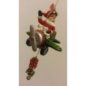 Babbo Natale in aereo