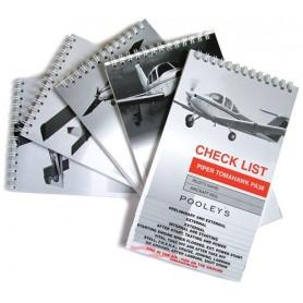 NCL--- POOLEYS CHECK LIST ROBINSON R44 RAVEN I & II