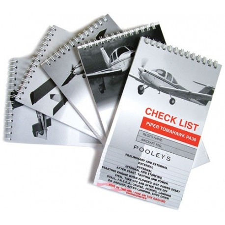 NCL--- POOLEYS CHECK LIST PIPER PA28