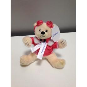 Peluche Teddy Aviator rosa piccolo