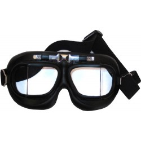 Maschera/Occhiali Aviatore nero