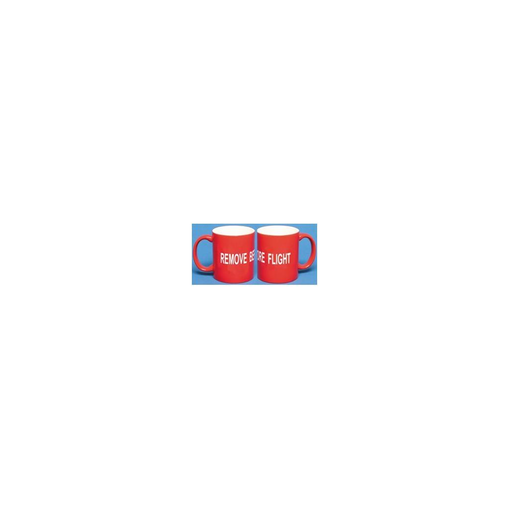 """Tazza """"Remove Before Flight"""""""