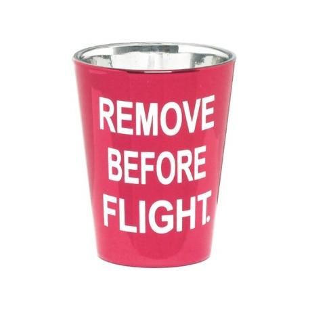 Bicchiere Liquore RBF rosso