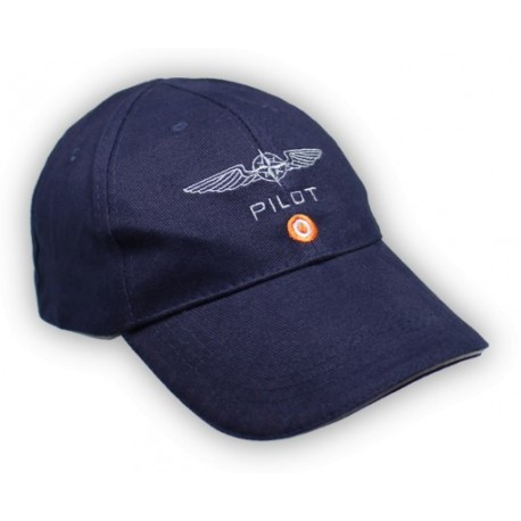 Cappellino Design4Pilots blu