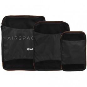 Set 3 contenitori morbidi per bagaglio Airbus