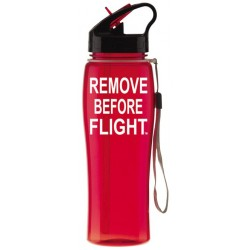 Borraccia REMOVE BEFORE FLIGHT