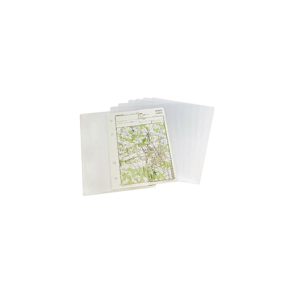 Chart pocket formato A5 per cosciali e manuali