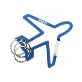 Moschettone a forma di aereo con anelli Airbus