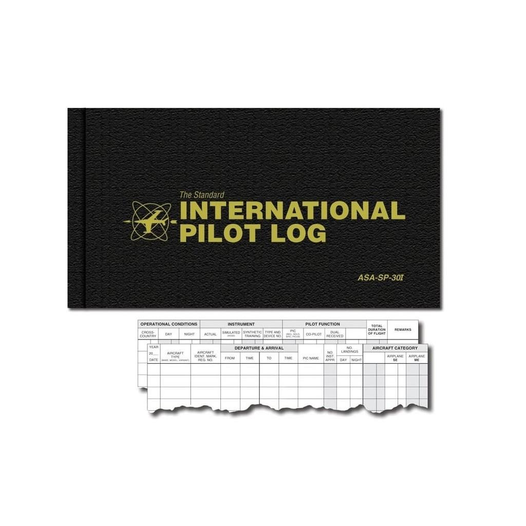 International Pilot Logbook ASA