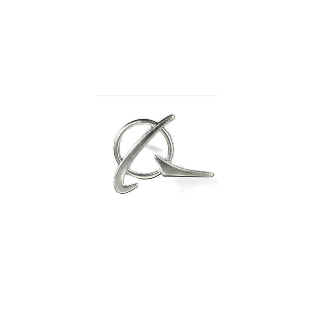 Spilla Simbolo Boeing argento