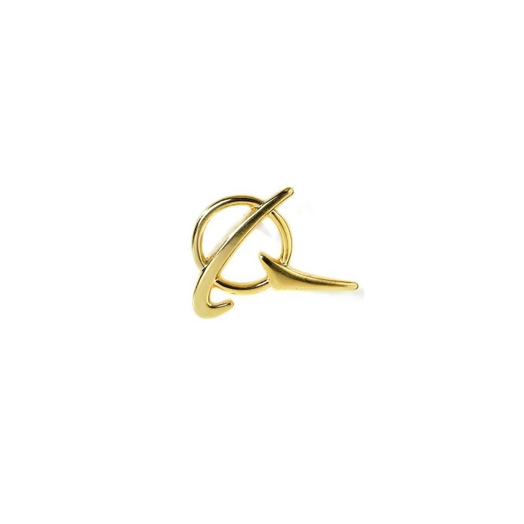 Spilla Simbolo Boeing oro