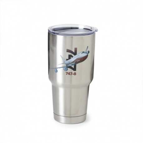 Tazza - Thermos Boeing 747-8 in acciao