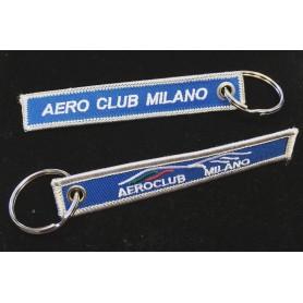 Portachiavi in stoffa Aero Club Milano