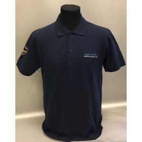 Polo manica corta blu uomo Aero Club Milano