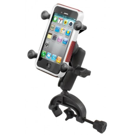 SUPPORTO A MORSETTA YOKE MOUNTING RAM-MOUNT PER APPLE iPhone6 - 6S - 5 - 5C - 5S - 4 - 4S