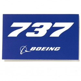 Adesivo 737 BOEING