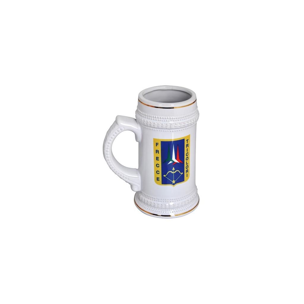 Boccale in ceramica Frecce Tricolori
