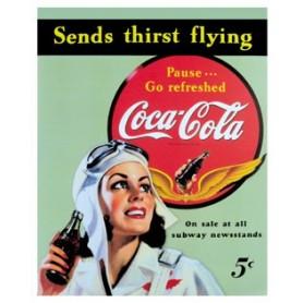 Targa Coke Girl
