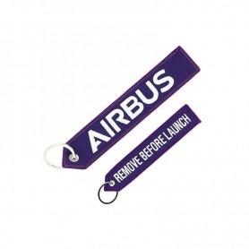 "Portachiavi Airbus ""REMOVE BEFORE LAUNCH"""