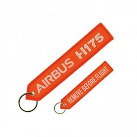 """Portachiavi Airbus H175 """"REMOVE BEFORE FLIGHT"""""""