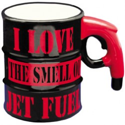 "Tazza ""I LOVE THE SMELL OF JET FUEL"""