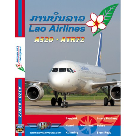 DVD LAO AIRLINES A320 - ATR72