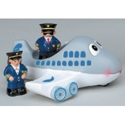 "Gioco bimbo/a per bagnetto ""Airplane Tub Toy"""