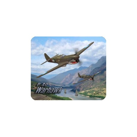 P-51 Classic Flight Collection Mousepad