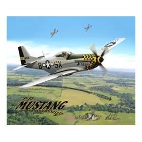 T-shirt uomo P-51 Mustang