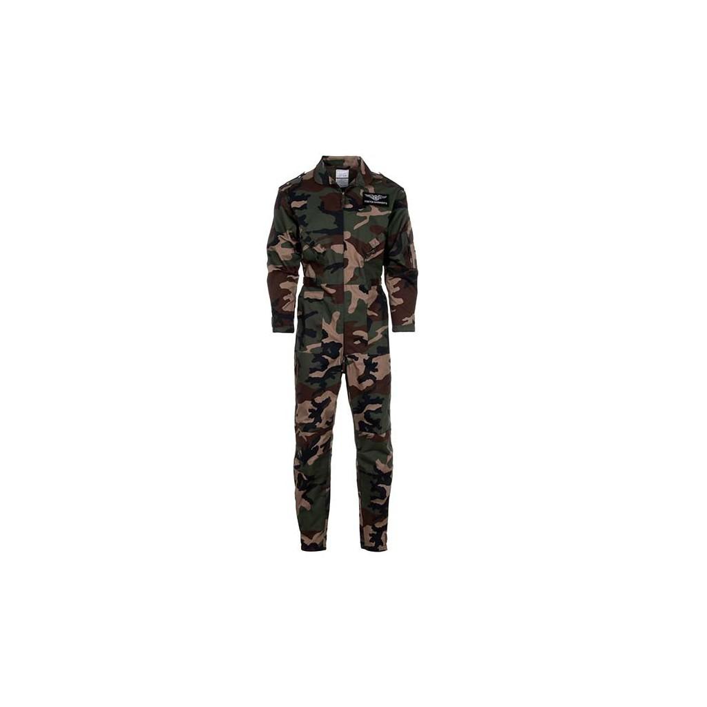 Tuta di volo Bimbo/Bimba camouflage