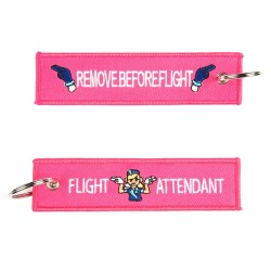 Portachiavi Flight Attendant / Remove Before Flight