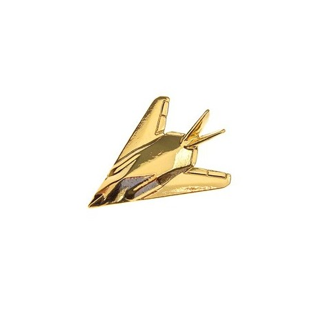 Spilla F117 Stealth Fighter Pin Badge Gold