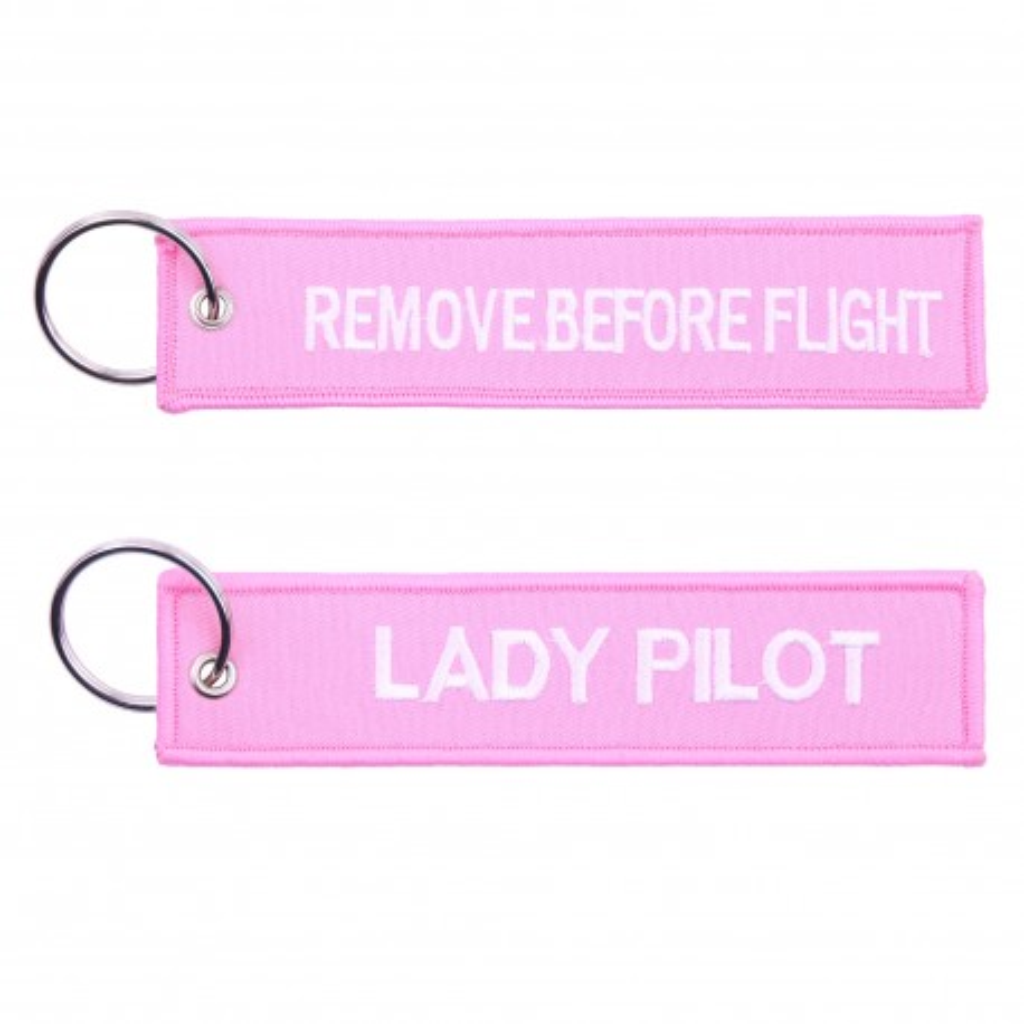 Portachiavi Flight Attendant / Remove Before Flight