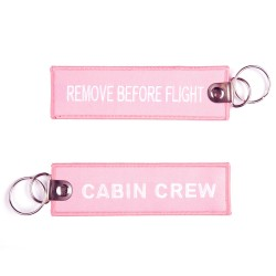 Portachiavi Cabin Crew / Remove Before Flight
