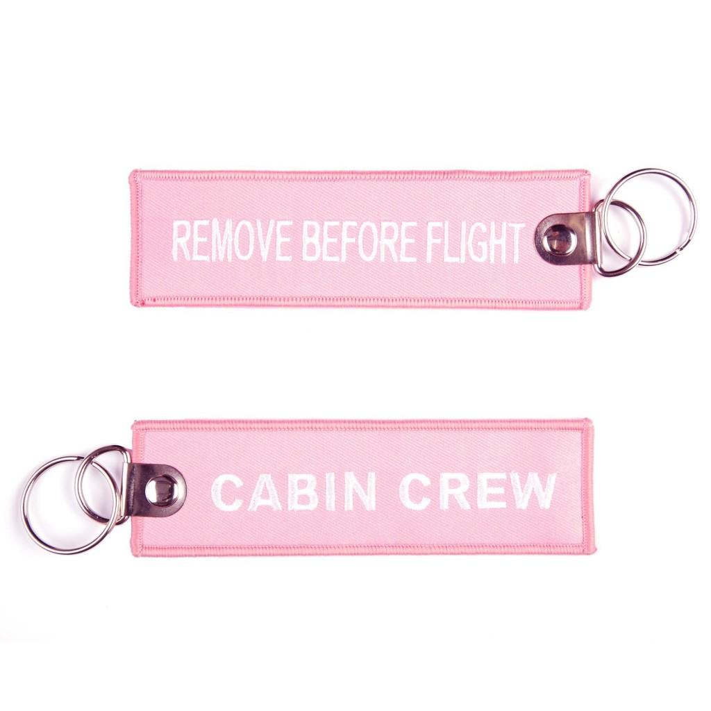 Portachiavi Cabin Crew / Remove Before Flight