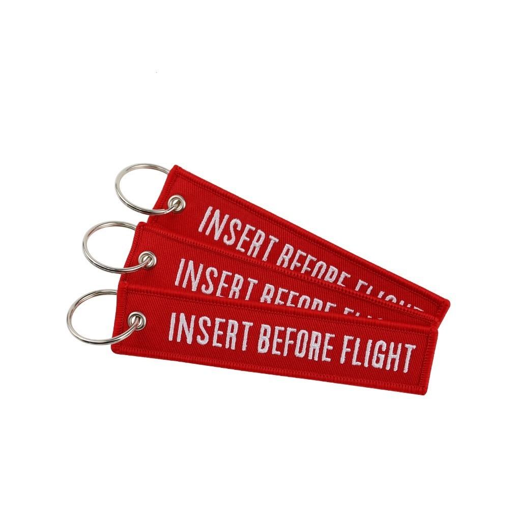 Portachiavi Insert Before Flight