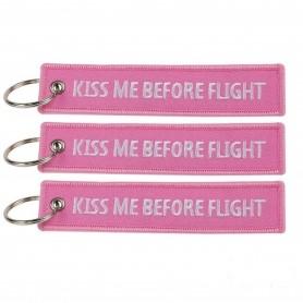 Portachiavi KISS ME BEFORE FLIGHT