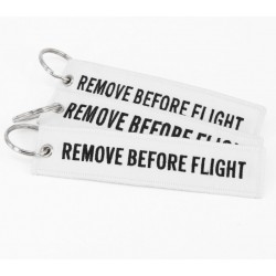 Portachiavi tessuto Remove Before Flight