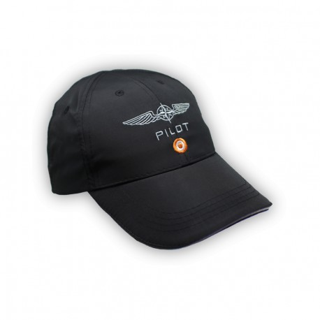Cappellino in microfibra Design4Pilots nero