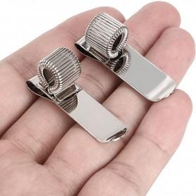 Portapenna singolo a Clips in metallo