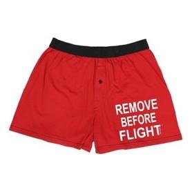 Boxer REMOVE BEFORE FLIGHT