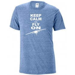 T-shirt Keep Calm and Fly On